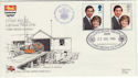 1981-07-22 RNLI Official No73 Royal Wedding FDC (48408)