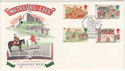 1986-06-17 Medieval Life Winchester FDC (48459)