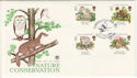 1986-05-20 Species at Risk Slimbridge FDC (48461)