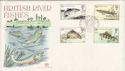 1983-01-26 River Fish Peterborough FDC (48466)