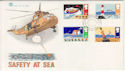 1985-06-18 Safety at Sea Eastbourne FDC (48475)