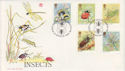 1985-03-12 Insects London SW FDC (48477)