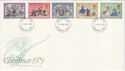 1979-11-21 Christmas Stamps Basingstoke FDI (48536)