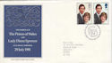 1981-07-22 Royal Wedding Bureau FDC (48539)