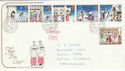 1973-11-28 Christmas Stamps Sutton coldfield cds FDC (48582)