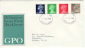 1968-07-01 Definitive Issue Windsor FDC (48588)