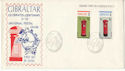 1974-05-02 Gibraltar Self-Adhesive Stamps FDC (48807)