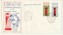 1974-05-02 Gibraltar Self-Adhesive Stamps FDC (48808)