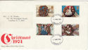 1974-11-27 Christmas Stamps London FDI (48934)
