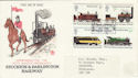 1975-08-13 Railways Darlington FDC (48940)