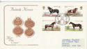 1978-07-05 Horses Peterbourgh FDC (48984)