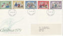 1979-11-21 Christmas Stamps Norwich FDI (49022)
