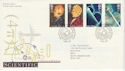1991-03-05 Scientific Achievements Bureau FDC (49047)