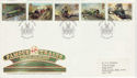 1985-01-22 Famous Trains Bristol FDC (49072)