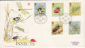 1985-03-12 Insects Bureau FDC (49074)