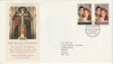 1986-07-22 Royal Wedding London SW1 FDC (49102)