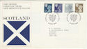 1981-04-08 Scotland Definitive Edinburgh FDC (49184)