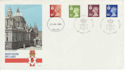 1980-07-23 N Ireland Definitive BELFAST cds + H/S FDC (49221)