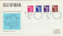 1971-07-07 Isle of Man Definitive Douglas FDC (49229)
