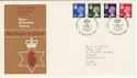 1974-01-23 N Ireland Definitive BELFAST FDC (49231)