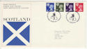 1974-01-23 Scotland Definitive Bureau FDC (49236)