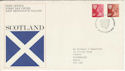 1976-10-20 Scotland Definitive Edinburgh FDC (49240)