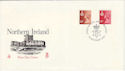 1976-10-20 N Ireland Definitive BELFAST FDC (49241)