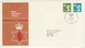 1976-01-14 N Ireland Definitive BELFAST FDC (49249)