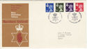 1974-01-23 N Ireland Definitive Belfast FDC (49305)