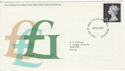 1972-12-06 Definitive High Value Bureau FDC (49307)