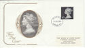 1972-12-06 Definitive High Value London FDC (49474)