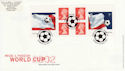 2002-05-21 PM6 World Cup Football Bklt Wembley FDC (49506)