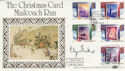 1988-11-15 Christmas Benham Signed FDC (49524)