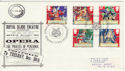 1992-07-21 Gilbert and Sullivan (Torbay) Official FDC (49530)