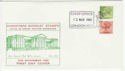 1980-11-12 Definitive Bklt Stamps London FDC (49543)