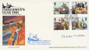 1981-09-23 Fishing Benham Signed FDC (49558)