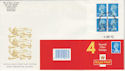 1993-04-06 HA6 Bklt 4 x 2nd Coventry FDC (49644)