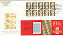 1997-11-20 10 x 1st Gold Cyl Royal Wedding Souv (49689)