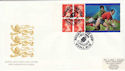 1999-10-01 Definitive Bklt Rugby Label Cardiff FDC (49713)