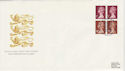 1991-09-10 Definitive 50p Bklt Windsor FDC (49727)
