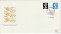 1989-09-19 Bklt Stamps Litho Questa Windsor FDC (49750)