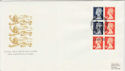 1989-04-25 Definitive Bklt Stamps Windsor FDC (49752)
