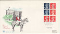 1988-09-05 Definitive Bklt Stamps Windsor FDC (49755)