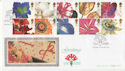 1997-01-06 Greetings Flowers Staines Benham FDC (49762)