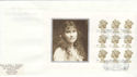 2000-08-04 Queen Mother PSB Full Pane Hitchen FDC (49770)