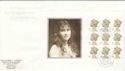 2000-08-04 Queen Mother PSB Full Pane Hitchen FDC (49771)