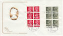 1982-01-27 Definitive 26p 19½p Cyl Margin Windsor FDC (49781)