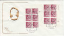 1982-01-27 Definitive 5p Questa Cyl Margin Windsor FDC (49783)