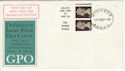 1968-09-16 4d Bklt Stamps Windsor cds FDC (49789)