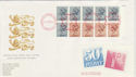 1984-09-03 Definitive Bklt Pane NPM FDC (49790)